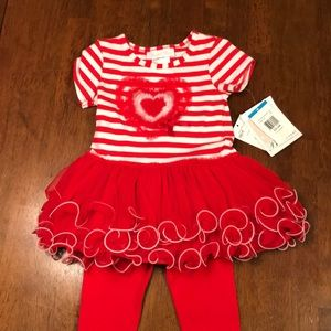 Toddler Girl Valentine's Outfit